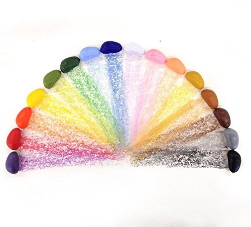 16 crayons cailloux