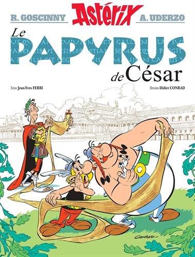 Astérix – Tome 36 – Le Papyrus de César