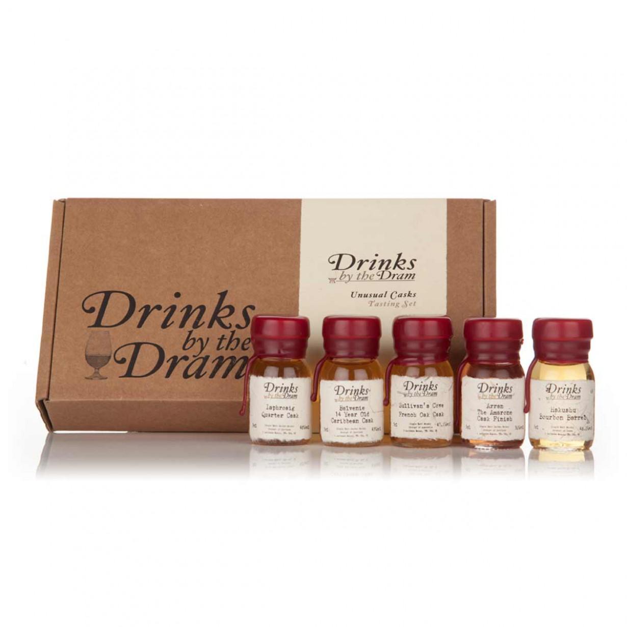 Set de 5 whiskies insolites