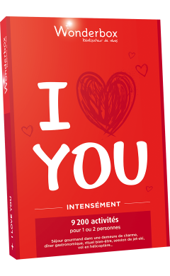 Coffret I love you intensément