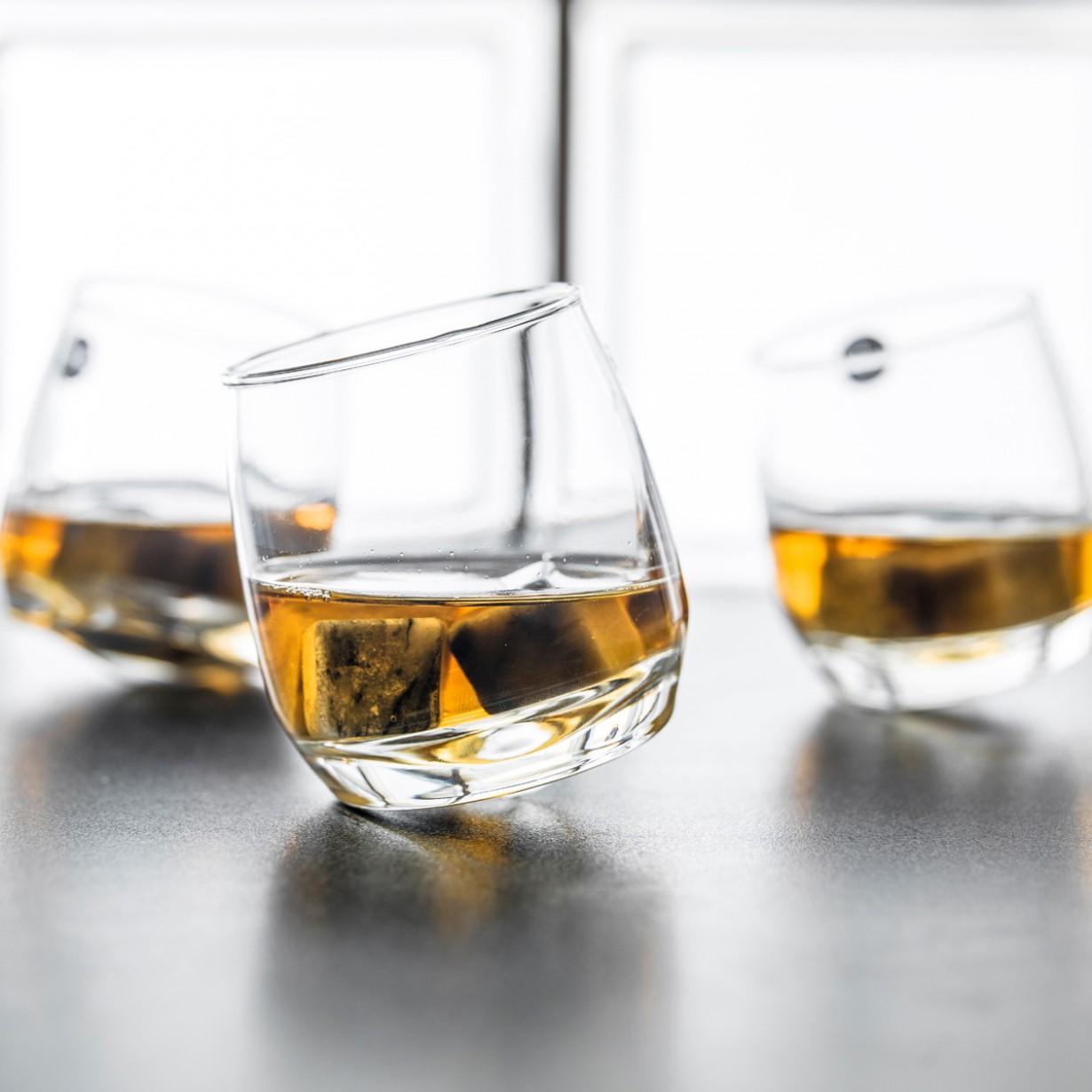 Verres à Whisky toupie
