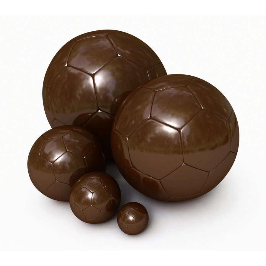 ballon de football en chocolat id e cadeau france. Black Bedroom Furniture Sets. Home Design Ideas