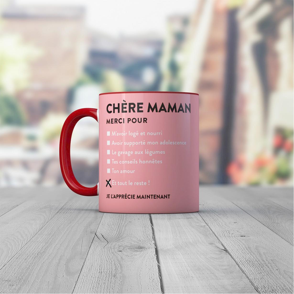 Tasse Ch Re Maman Id E Cadeau France