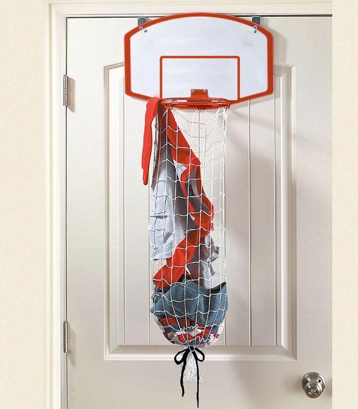 panier linge basketball id e cadeau france. Black Bedroom Furniture Sets. Home Design Ideas