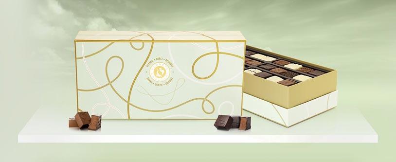 Planète Chocolat Découvrez les coffrets de chocolats deluxes