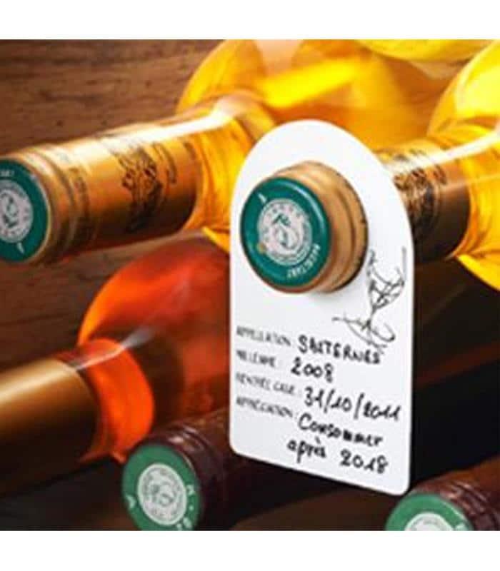 Etiquettes à bouteilles de vin