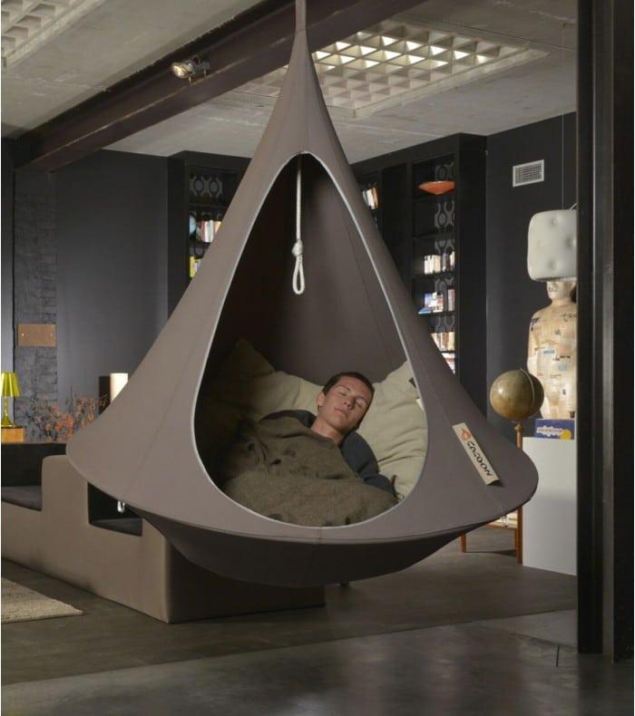 fauteuil suspendu cacoon id e cadeau france. Black Bedroom Furniture Sets. Home Design Ideas