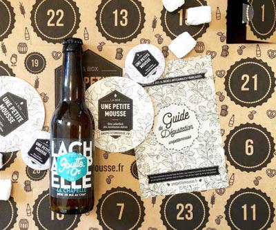 Calendrier de l'avent  24 bières à déguster avant Noël!