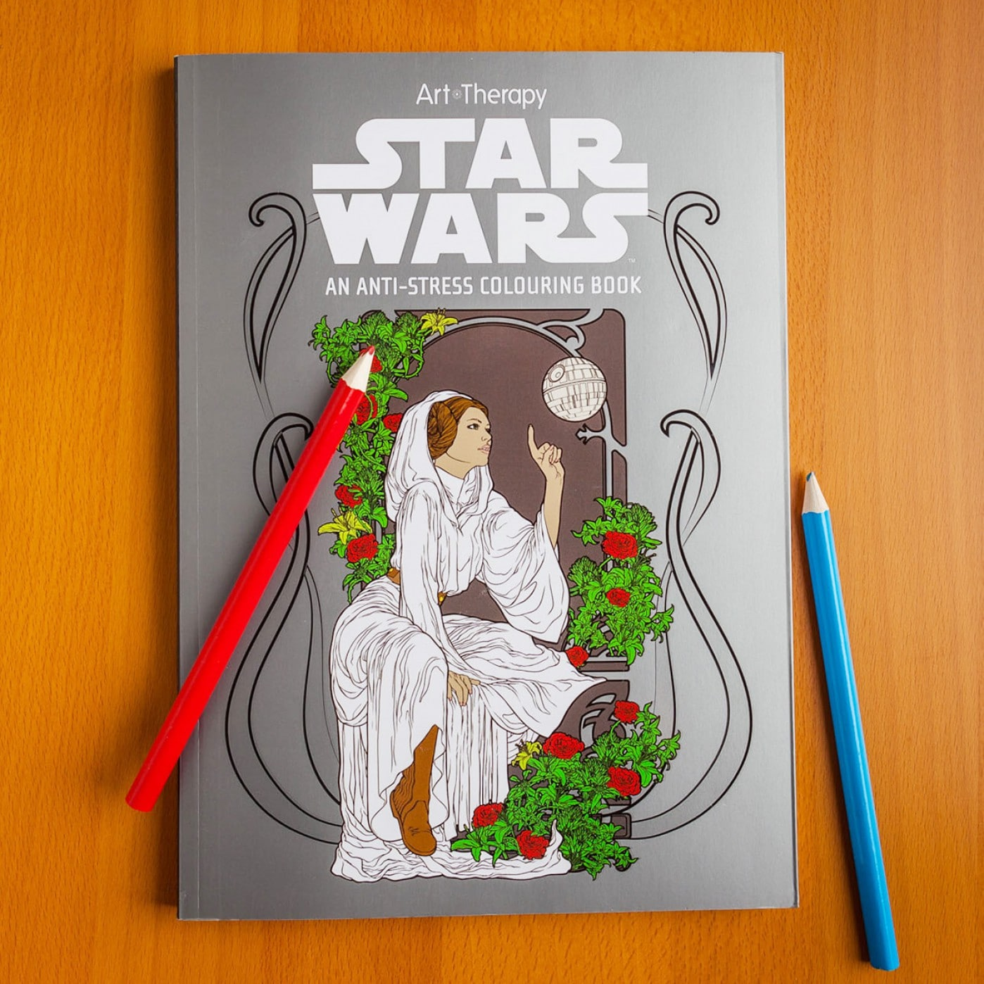Cahier de coloriages Star Wars Therapy