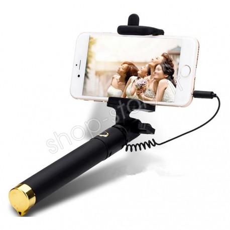Perche télescopique à selfie (version Gold)