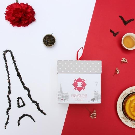 Coffret thés et infusions «La Parisienne»