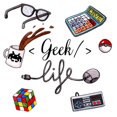 Pochette surprise Geek