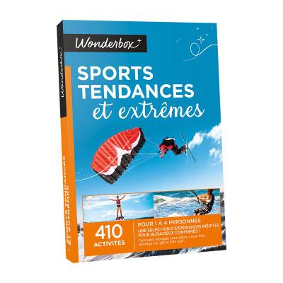 Coffret Wonderbox : Sports tendances et extrêmes