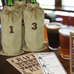 Kit de dégustation bière à l'aveugle