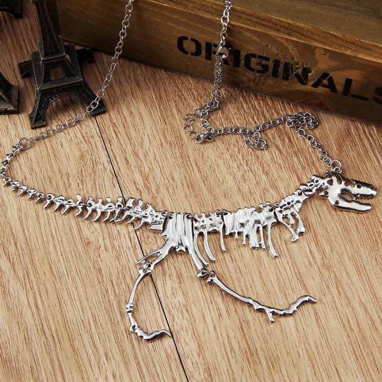 Collier squelette tyrannosaure